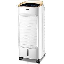 oanzryybz Climatiseur Portable pour climatiseurs Mobiles dans Les Chambres et Les Bureaux, Ventilateur Domestique, télécommande de chronométrage, Blanc