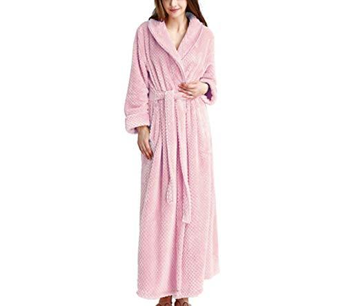 Kempp Señoras Robe Luxury Terry Toweling Algodón