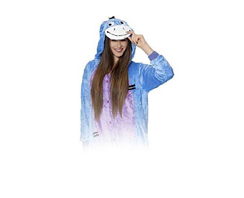 Zolta Onesie Blue I-Aah Eeyore Esel M Große Cosplay Kostüme Pyjama Erwachsene