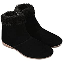 Thari Choice Women's Black Boot - Ind/Uk-5 (Eu-38)