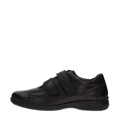 Braking 5823 Sneakers Uomo Pelle NERO NERO 42