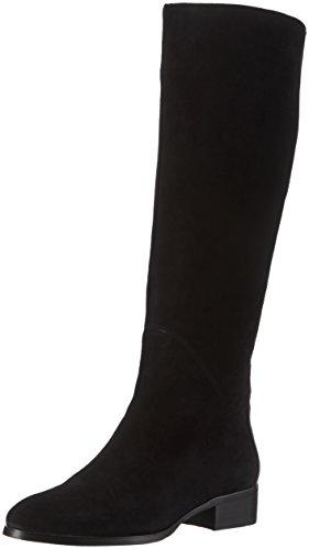 Giudecca - A6-1, Stivali alti con imbottitura leggera Donna Nero (Nero (nero))