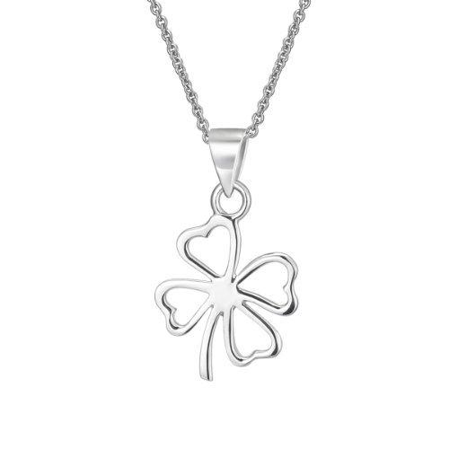 Collar de trébol Collar para mujer Joyería de Moda plata 925 VIKI LYNN