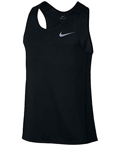 Nike Dry Dri Fit Miller Tank Top Men's Sleeveless Running Shirt - Miller Tank