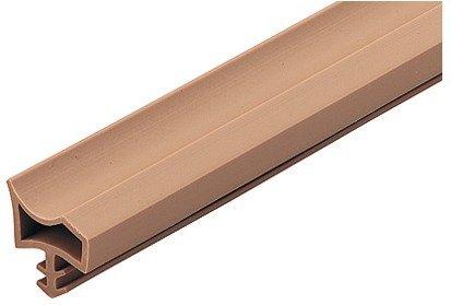 25 Meter - Türanschlagdichtung Türdichtung Zimmertür M 3967 für Holzzargen   Türzargen-Dichtung weiß   Falzbreite: 12 mm   Kunststoff weich PVC   Baubeschläge von GedoTec®