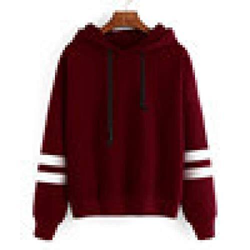 Herbst Winter Pullover MEIbax Damen Langarm Plus Samt Hoodie Sweatshirt Pullover mit Kapuze Pullover...