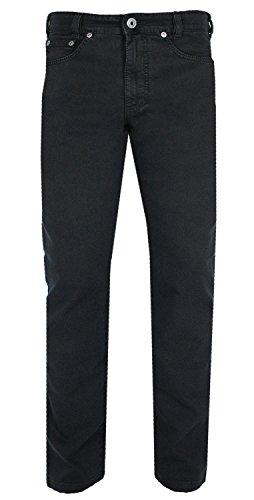 JOKER Jeans | Clark ( Comfort Fit ) TWILL STRETCH Übergrößen Schwarz