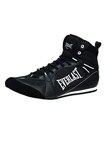 Everlast Boxartikel 8002 Lo Top Boxing Boot Botas Bajas de Boxeo, Unisex Adulto, Negro, 39