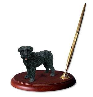 Conversation Concepts Bouvier des Flandres Schreibtisch-Set für Hunde, mit Ohren -
