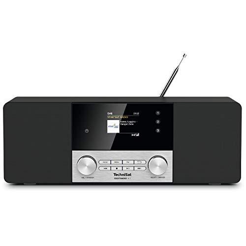 TechniSat DIGITRADIO 4 C Radio, schwarz/Silber, DAB+, UKW, Bluetooth