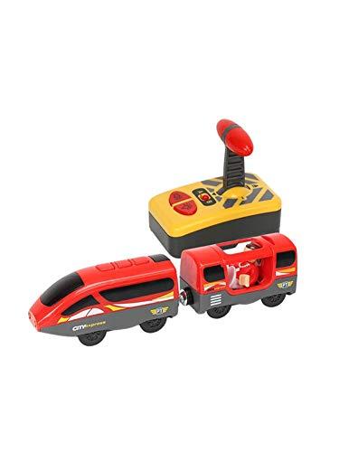 Chanson De Vie Train Electrique Enfant, Jouet Magnétique De Train Électrique D'enfant, Voie En Bois De Locomotive