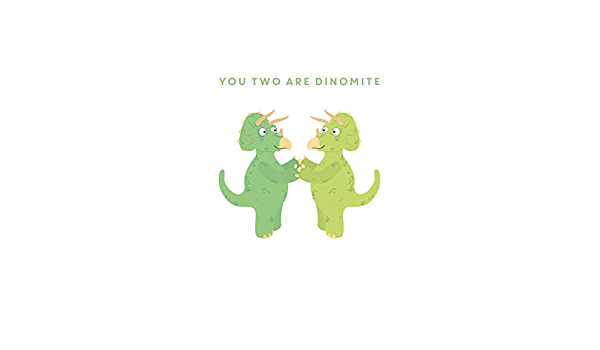 You Two are Roarsome Scribbler Cute Wedding//Anniversary//Engagement Card