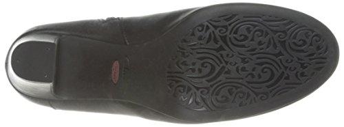 Clarks Tamryn Saison Bootie Black Leather