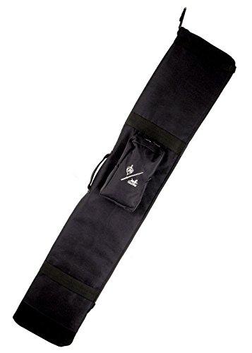 Schwerttasche für 2 oder 3 Schwerter Bokkentasche Katana Tragetasche Schwarz von Hanwei ®