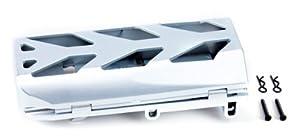 Graupner 90190.129  - Soporte de batera, cromado importado de Alemania