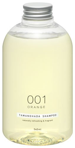 Tamanohada Soap | Shampoo | 001 Orange 540Ml, Non Silicon (Japan Import)