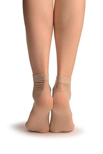 linen-beige-with-thing-stripes-seam-socks-ankle-high-beige-chaussettes-taille-unique-37-42
