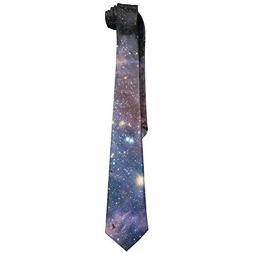 Preisvergleich Produktbild Sweet grape Space Galaxias Digital Mens Acceossories Necktie Printed Ties Silk New Length 143-145cm