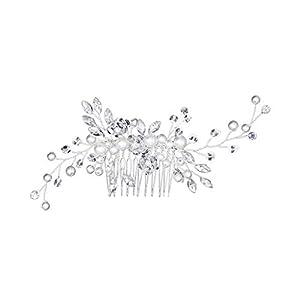 Cuigu Braut Kamm – Perle Braut Haarschmuck Elegante Hochzeit Schmuck Kopfschmuck Für Frauen
