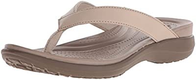 Crocs Capri V W - Sandalias de cuero mujer