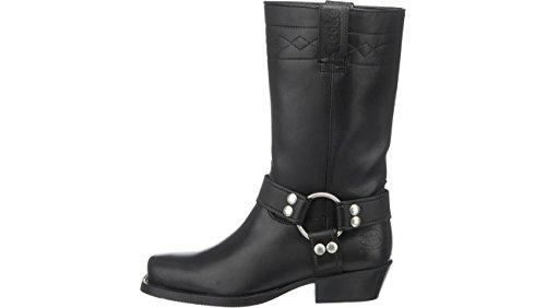 Dockers , Boots biker mixte adulte Noir - Noir