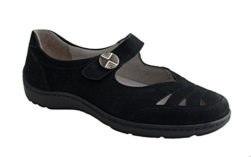 WALDLÄUFER HENNI 496302191094 femmes Mocassins, Black