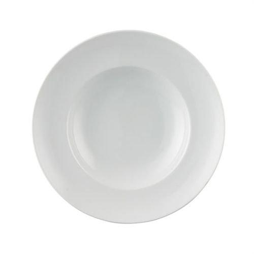 Assiette à Pâtes Petite Thomas Amici, Spaghettis, Porcelaine, Blanc, Compatible Lave-Vaisselle, 25 cm, 15322
