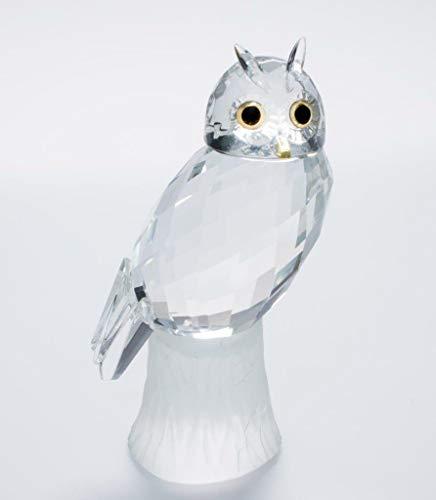 IXO/ALTAYA/ATLAS Crystal Style UHU hochwertige geschliffene Kristall Figur für Sammler Crystal Atlas