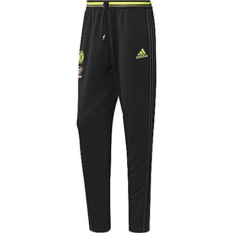 Survetement Entrainement Foot - adidas Chelsea Fc Pantalon D'entraînement Homme, Noir/Granite/Solar