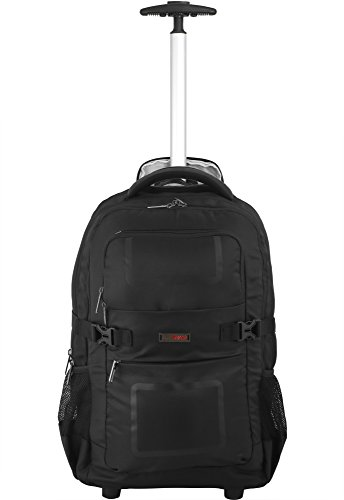 VIP Tango Black 40L Overnighter Backpack Trolley (STBPTANBLK)  available at amazon for Rs.5499