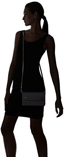 Unisa Damen Zdiva_pa Clutch, 6x13x22 cm Black
