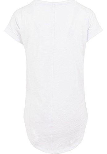 Femmes femmes Long Jille t-shirt t-shirt d'été Haut pour femmes Crème glacée Ice Gaufre Licorne I'm a Licorne Blanc