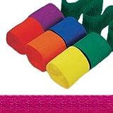 Krepppapier-Bänder 4,4cm x 24,7m Hot-Pink