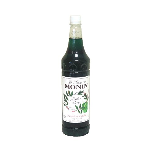 Monin Green Mint Coffee Syrup 70cl - Pack of 6