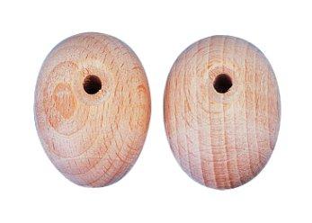 Rayher 6109100 Marionettenfüße aus Holz, 32x24 mm