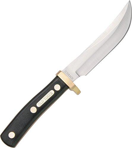 Schrade 0 SCH165OT Outdoormesser-Klingenlänge: 12.7 cm-Old Timer Woodsman, mehrfarbig 9,7 x 10,2 x 19,8 cm
