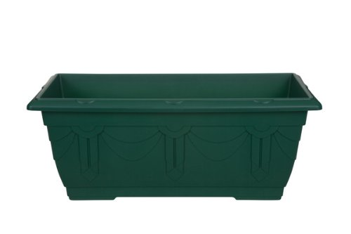 Whitefurze G02064 60cm Venetian Patio Planter - Forest Green
