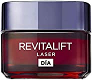 L'Oréal Paris Revitalift Láser Crema de Día Anti-Edad Intensiva, Con Pro-Xylane, 5