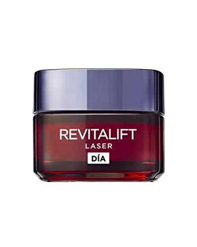 L'Oréal Paris Crema de Día Anti-Edad Efecto Piel Nueva Revitalift Láser, con Proxylane - 50 ml