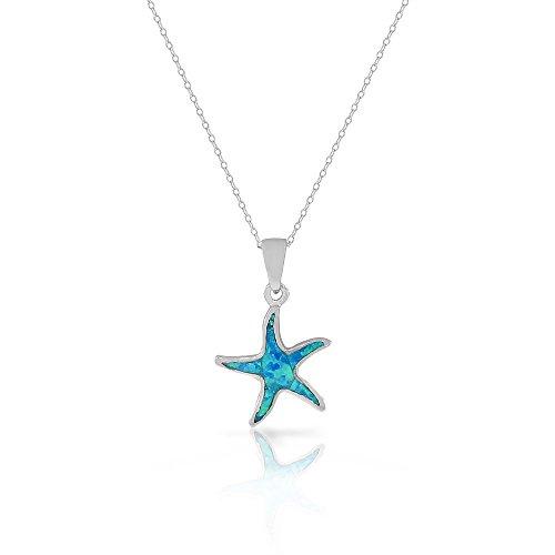 collana-in-argento-sterling-con-ciondolo-a-forma-di-stella-marina-con-opale-turquoise-tone-finto-blu