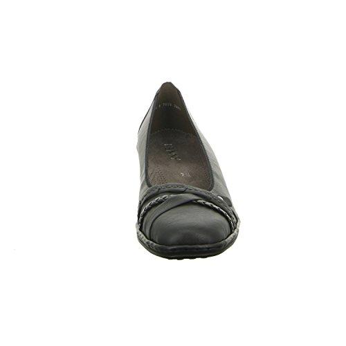 REGGIO 22–61130–01 femme jenny chaussures confort verni plusieurs étagères extra large Noir - Noir