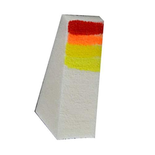 F-blue Nail Art Transfer Sponge Gradient Coloring Stamping Stamper Gemälde Bild Stamp Schaum DIY polnische Gel UV-Werkzeuge 16pcs (Bild-transfer-gel)