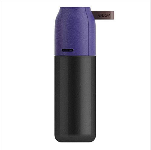 mzq Isolierung Cup Geschäft Wasser Tasse Portable Edelstahl Isolierung kalt Riemenabdeckung mit Seil Tasse Wasser