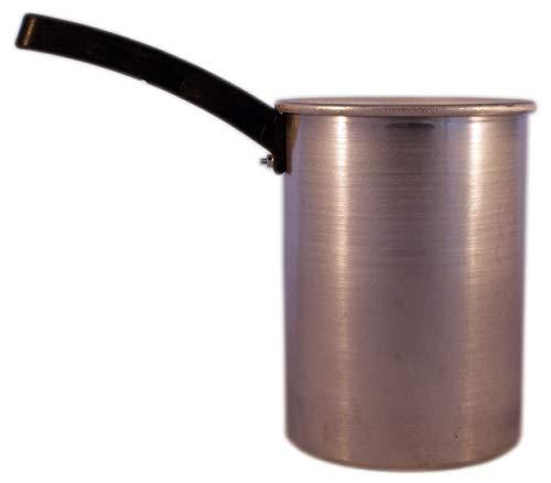 EPILWAX S.A.S - Cazo en aluminio para Cera Caliente Depilación de 800 Ml para Calentador