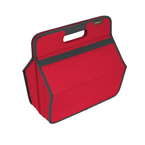 Faltbare Werkzeug/Hobby Box Hibiskus Rot 36,5x22,5x37cm abwischbar stabil Polyester Basteln Werkstatt Garage Flickzeug (Winterreifen Fahrräder Für)