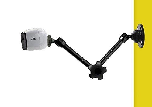 Galleria fotografica 27,9cm braccio articolato supporto da parete per Netgear Arlo, Arlo Pro, Arlo Go telecamere di sicurezza