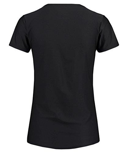 Asics Essentials Graphic Women's Course à Pied T-Shirt - AW16 Black