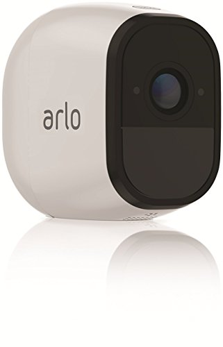 Arlo Pro Security System with Siren 2 Rechargeable Wire-Free HD Cameras with Audio, Indoor/Outdoor, Night Vision (VMS4230) by NETGEAR