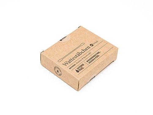 Hydrophil nachhaltige Wattestäbchen aus Bambus und Baumwolle - 3