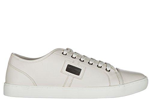 Dolce & Gabbana Zapatillas Para Hombre Ecru Cream, Color, Talla 42.5